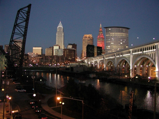 Cleveland_Skyline_Night